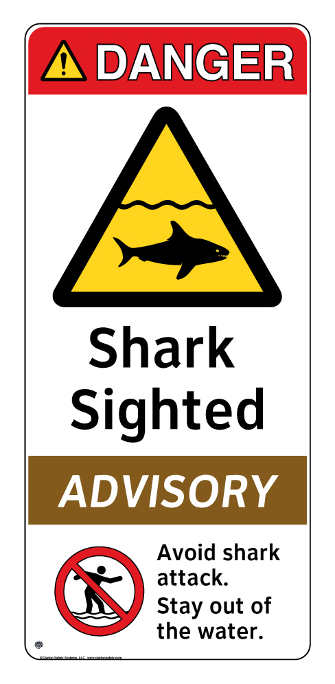 beach safety signs clarion safety systems