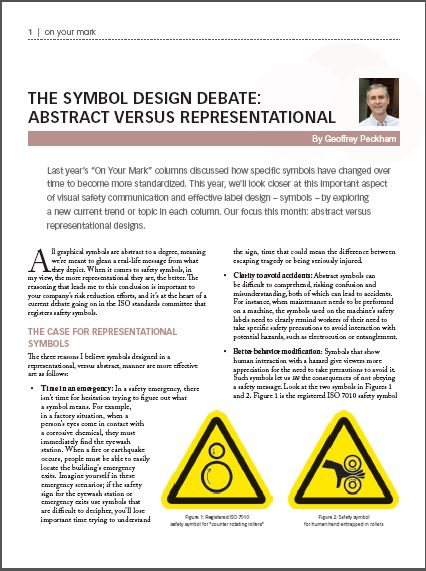 Understanding Symbols Emergency Stop Clarion Safety Systems