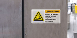 Chemical Hazard Labels | Clarion Safety Systems