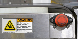 Crush and Entanglement Hazard Safety Labels | Clarion ...