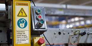 Electrical Lockout/Tagout Labels