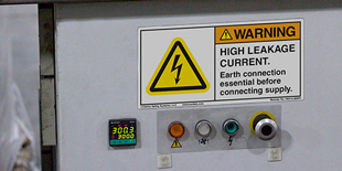 Electrical Grounding Labels