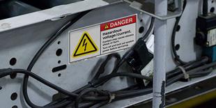 General Electrical Hazard Labels