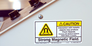Magnetic Hazard Safety Labels | Clarion Safety Systems