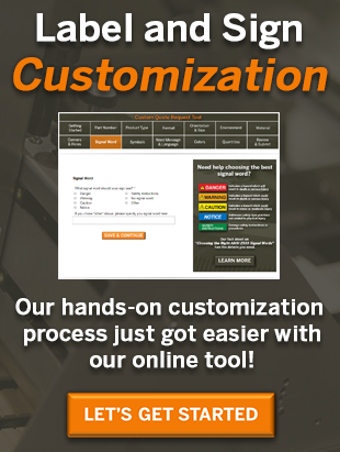 Sign and Label Customization Services | Clarion Safety Systems