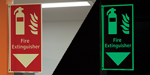 Fire Equipment Location Signs