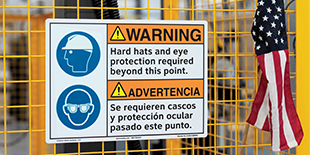 PPE Reinforcement Signs