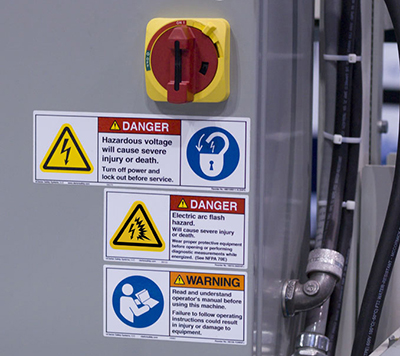 ANSI and ISO-Compliant Safety Labels | Clarion Safety Systems