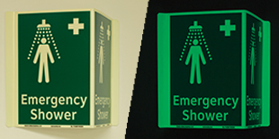 Safety Equipment Location Signs