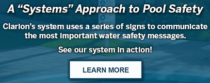Water Safety Sign Information | Clarion Safety Systems